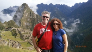 Pierre and Janelle Macchu Picchu