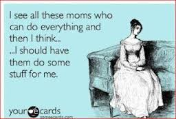 mothers doing everything
