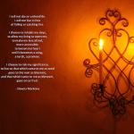 Dawna Markova's poem